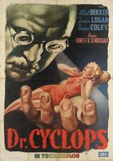 Affiche Dr. Cyclops