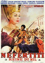 Affiche Nefertiti, reine du Nil