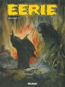 Couverture Anthologie Eerie, tome 1