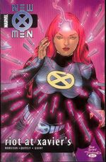 Couverture New X-Men: Riot at Xavier's