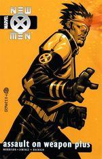 Couverture New X-Men: Assault On Weapon Plus