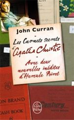 Couverture Les carnets secrets d'Agatha Christie