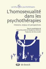 Couverture L'homosexualité dans les psychothérapies