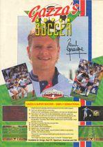 Jaquette Gazza's Super Soccer