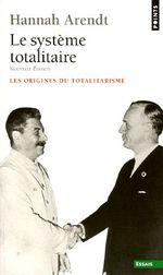 Couverture Le Système totalitaire