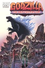 Couverture Godzilla : The Half Century War