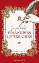 Couverture Friandises littéraires