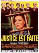 Affiche Justice est faite