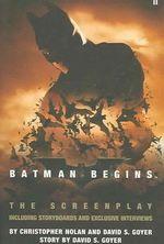 Couverture Batman Begins : The Screenplay