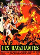 Affiche Les Bacchantes