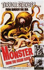 Affiche Monster from the Ocean Floor