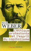Couverture L'Éthique protestante et l'esprit du capitalisme