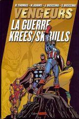 Couverture Vengeurs : La Guerre Krees/Skrulls