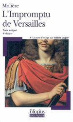 Couverture L'impromptu de Versailles