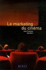 Couverture Le marketing du cinéma