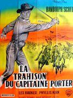 Affiche La Trahison du Capitaine Porter