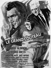 Affiche Le Grand Couteau