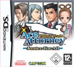 Jaquette Phoenix Wright : Ace Attorney - Justice for All