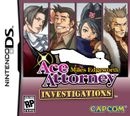Jaquette Ace Attorney Investigations : Miles Edgeworth