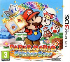 Jaquette Paper Mario : Sticker Star