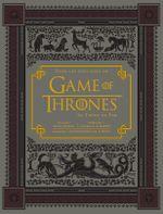 Couverture Dans les coulisses de Game of Thrones : Le trône de fer