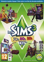 Jaquette Les Sims 3 : 70's, 80's, 90's Kit