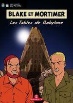 Jaquette Blake et Mortimer : Les Tables de Babylone