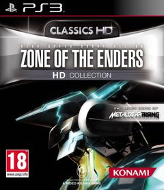 Jaquette Zone of The Enders HD Collection