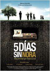 Affiche Cinco días sin Nora