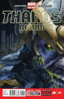 Couverture Thanos Rising
