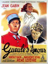 Affiche Gueule d'amour
