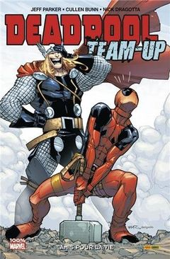 Couverture Amis pour la vie - Deadpool Team-Up, tome 2