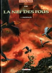 Couverture Eauxfolles - La Nef des fous, tome 1