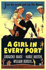 Affiche Une fille dans chaque port