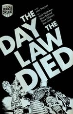 Couverture Judge Dredd The Day the law died