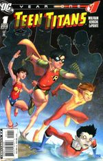 Couverture Teen Titans : Year One