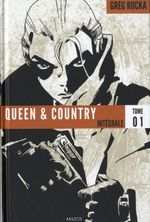 Couverture Queen & Country : Intégrale, tome 1