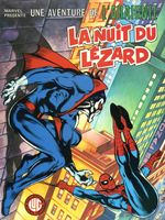 Couverture La nuit du Lézard - Une aventure de l'Araignée, tome 2