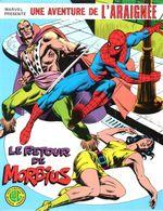 Couverture Le retour de Morbius- Une aventure de l'Araignée, tome 4