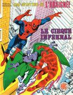 Couverture Le cirque infernal- Une aventure de l'Araignée, tome 5
