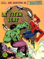 Couverture Le titan vert - Une aventure de l'Araignée, tome 6