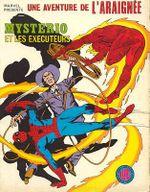 Couverture Mystério et les Exécuteurs - Une aventure de l'Araignée, tome 7