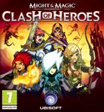 Jaquette Might and Magic : Clash of Heroes