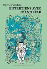 Couverture Entretiens avec Joann Sfar