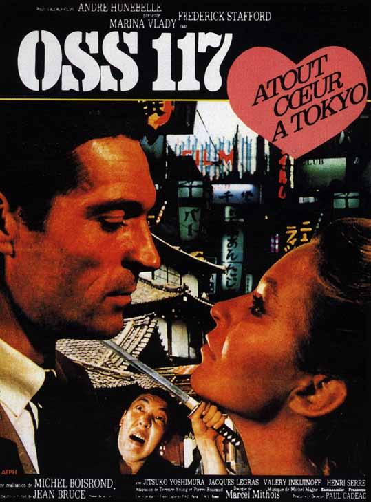 Atout Cœur A Tokyo Pour Oss 117 Film 1966 Senscritique