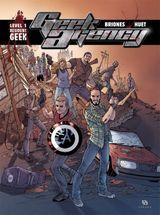 Couverture Resident Geek - Geek Agency, level 1