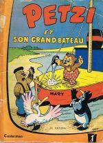 Couverture Petzi et son grand bateau - Petzi (première série), tome 1