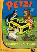 Couverture Petzi découvre un trésor - Petzi (première série), tome 3