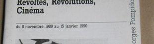 Cover Révoltes, Révolutions, Cinéma