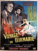 Affiche Voyage en Birmanie